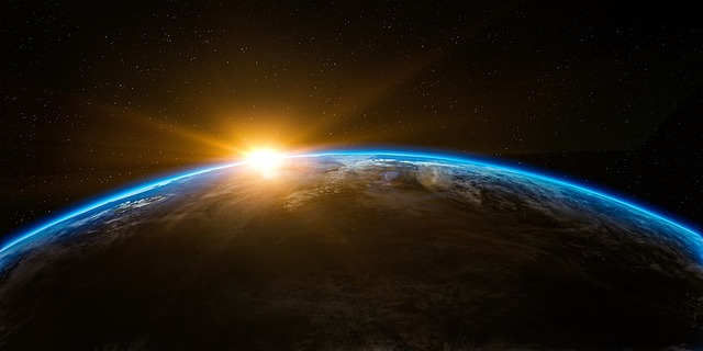 prostor vesmíru