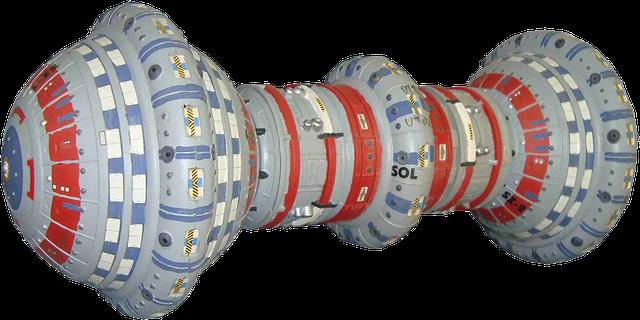 Model kosmické lodi budoucnosti
