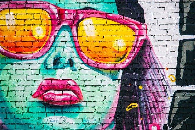graffiti, umění
